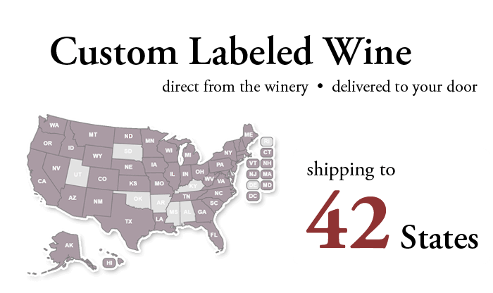 Custom Wine Source Shipping Map