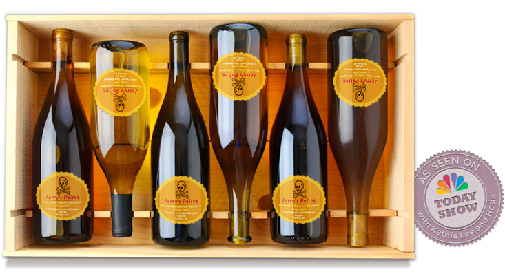 Today Show crate of wine