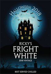 Fright White - Poster Vertical